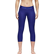 adidas Women's Alphaskin 3/4 Tights