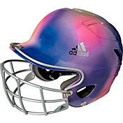 adidas OSFM Design Fastpitch Batting Helmet w/ Facemask