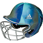 adidas OSFM Design Fastpitch Batting Helmet w/ Facemask