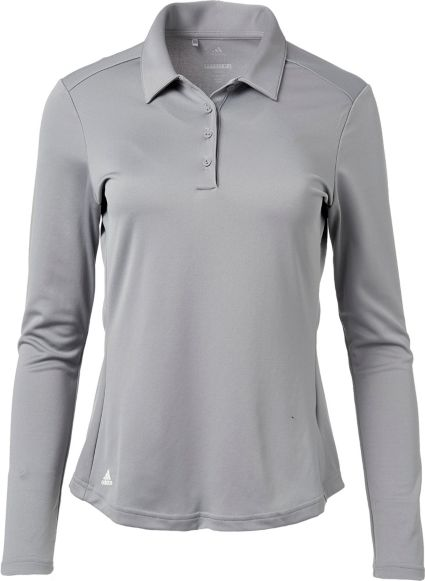 adidas Women's Advantage Long Sleeve Golf Polo