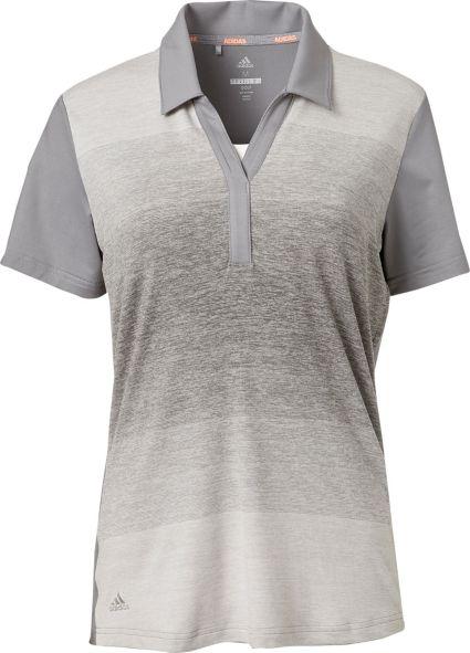 adidas Women's Advantage Ombre Golf Polo