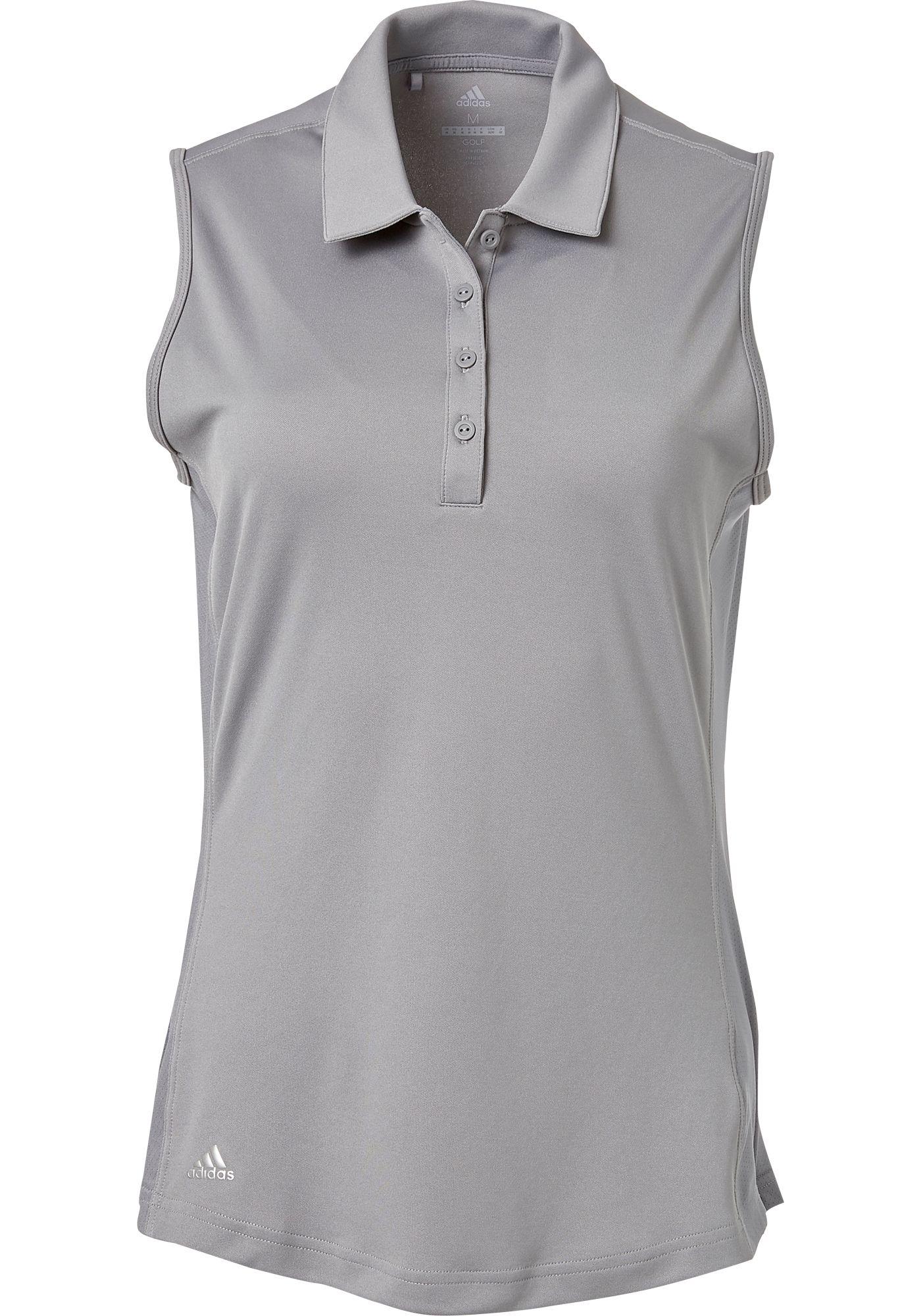 adidas Women's Drive Sleeveless Golf Polo