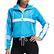 adidas Women's ID Wind Half Zip Jacket
