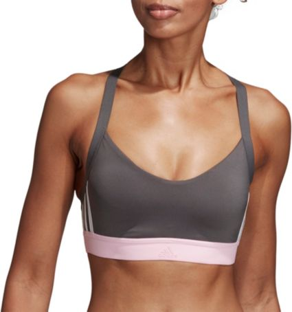 141860dcb8 adidas Women s All Me 3-Stripes Racerback Sports Bra. noImageFound