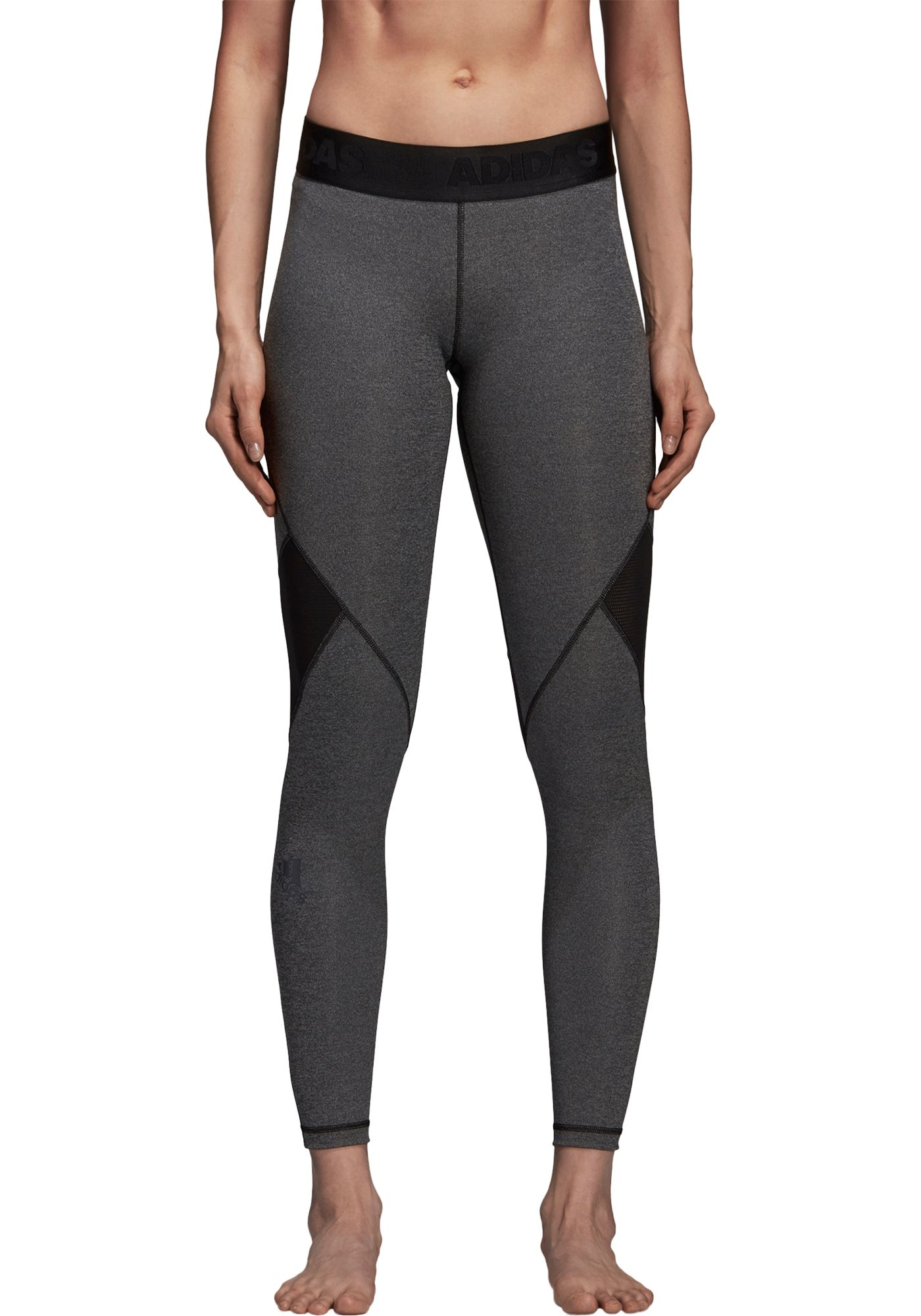 adidas Women's Alphaskin Sport Heather Training Tights