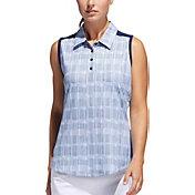 adidas Women's Ultimate365 UPF Sleeveless Golf Polo