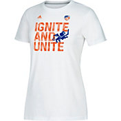 adidas Women's FC Cincinnati Ignite White Performance T-Shirt