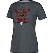 adidas Women's 2018 MLS Cup Champions Atlanta United Glitch Grey T-Shirt