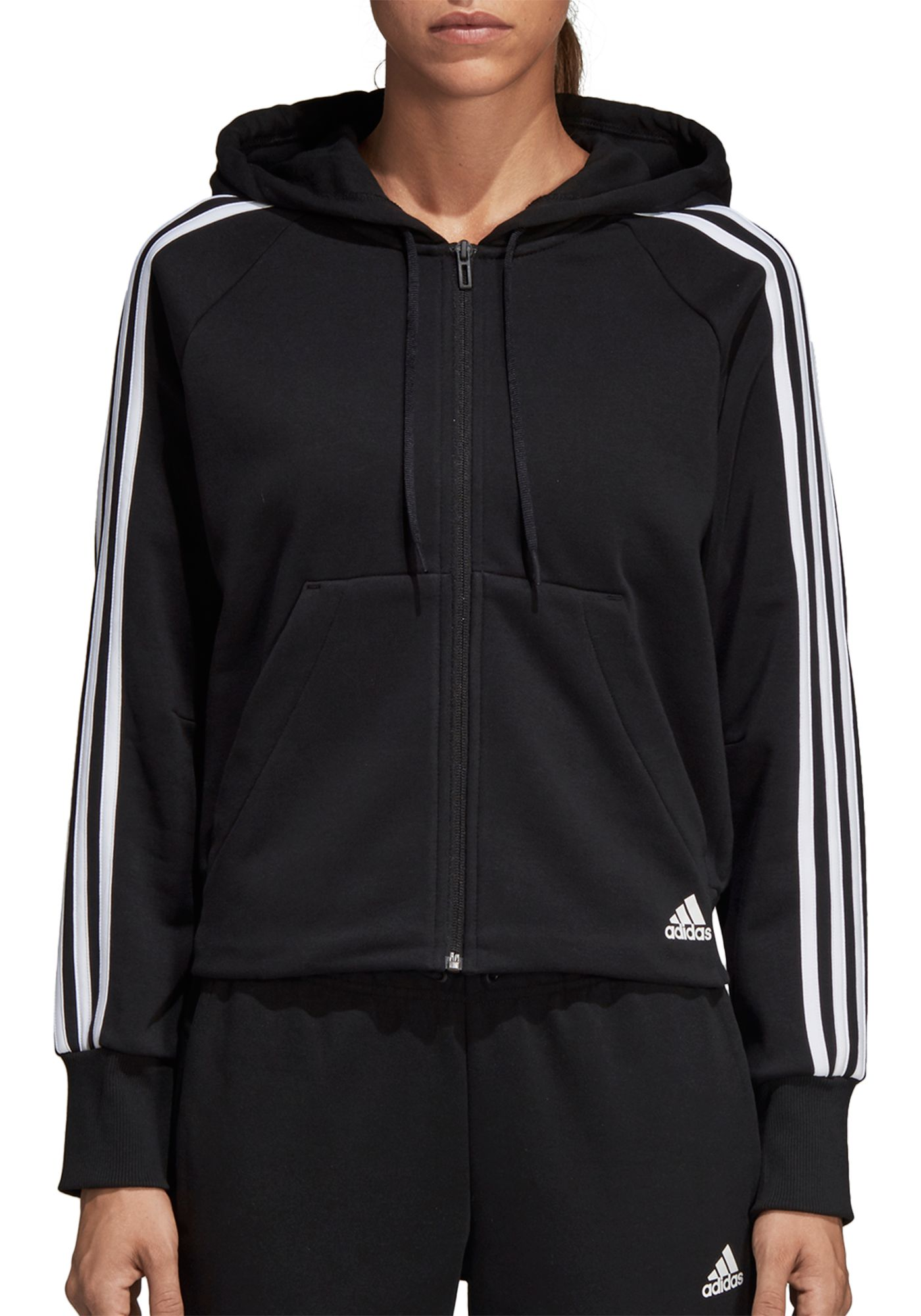 adidas Women's Must Have 3-Stripes Terry Hoodie