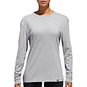 adidas Women's Moto Logo Long Sleeve Shirt