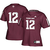 adidas Women's Texas A&M Aggies Maroon #12 Replica Football Jersey