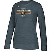 adidas Women's Vegas Golden Knights Heather Grey Sweatshirt
