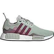 adidas Originals Women's NMD_R1 shoes in Green/Purple