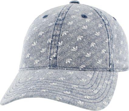 adidas Originals Women s Denim Monogram Strapback Hat. noImageFound 9b6bc33efc1