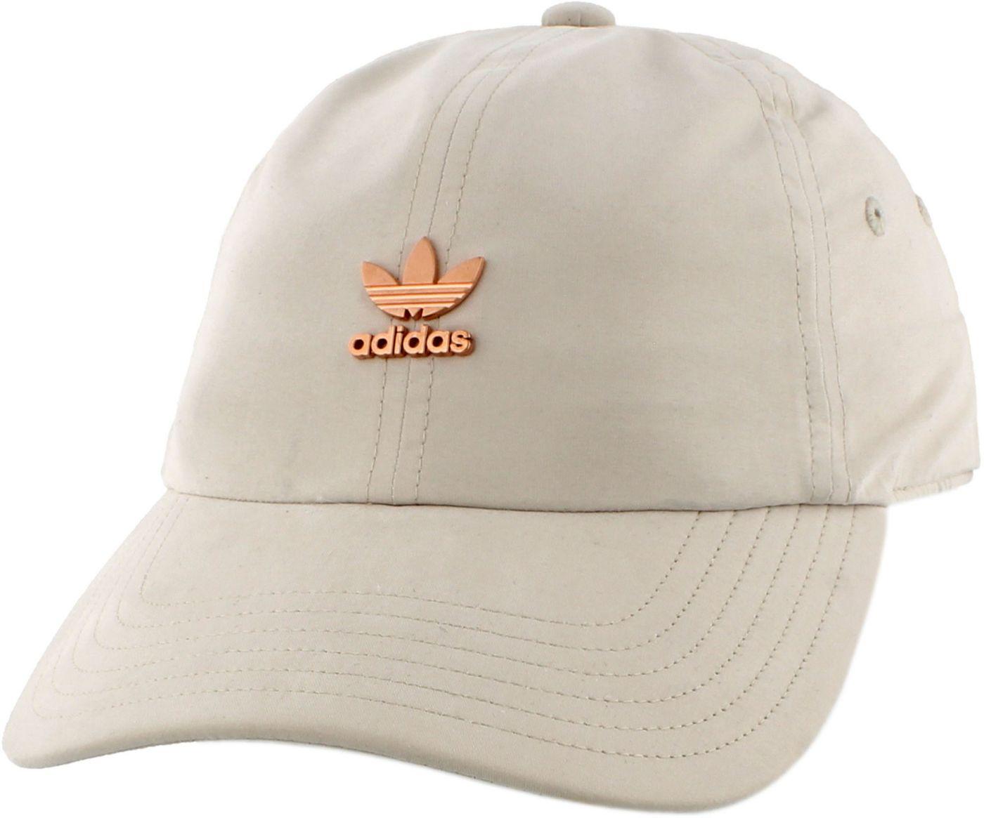 adidas Originals Women's Relaxed Metal Strapback Hat