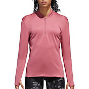 adidas Women's Response Climawarm ½ Zip Running Long Sleeve Shirt