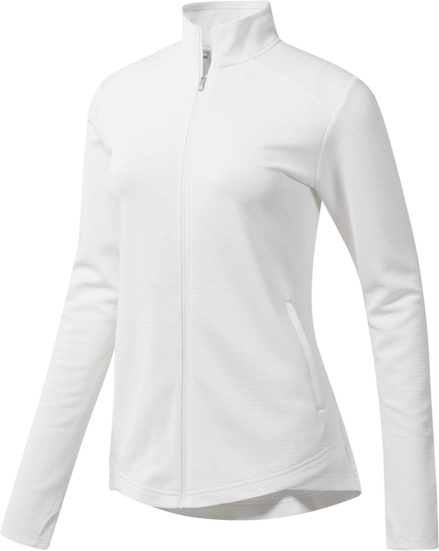 adidas Women's Essentials Full-Zip Golf Jacket