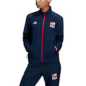 Adidas Women's USA Volleyball Warm-Up Jacket