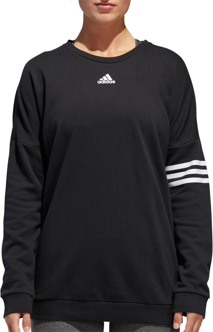 adidas Women's Athletics French Terry Crewneck Pullover