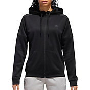 adidas Women's Team Issue Full Zip Hoodie