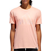adidas Women's Oversized Badge Of Sport Graphic T-Shirt