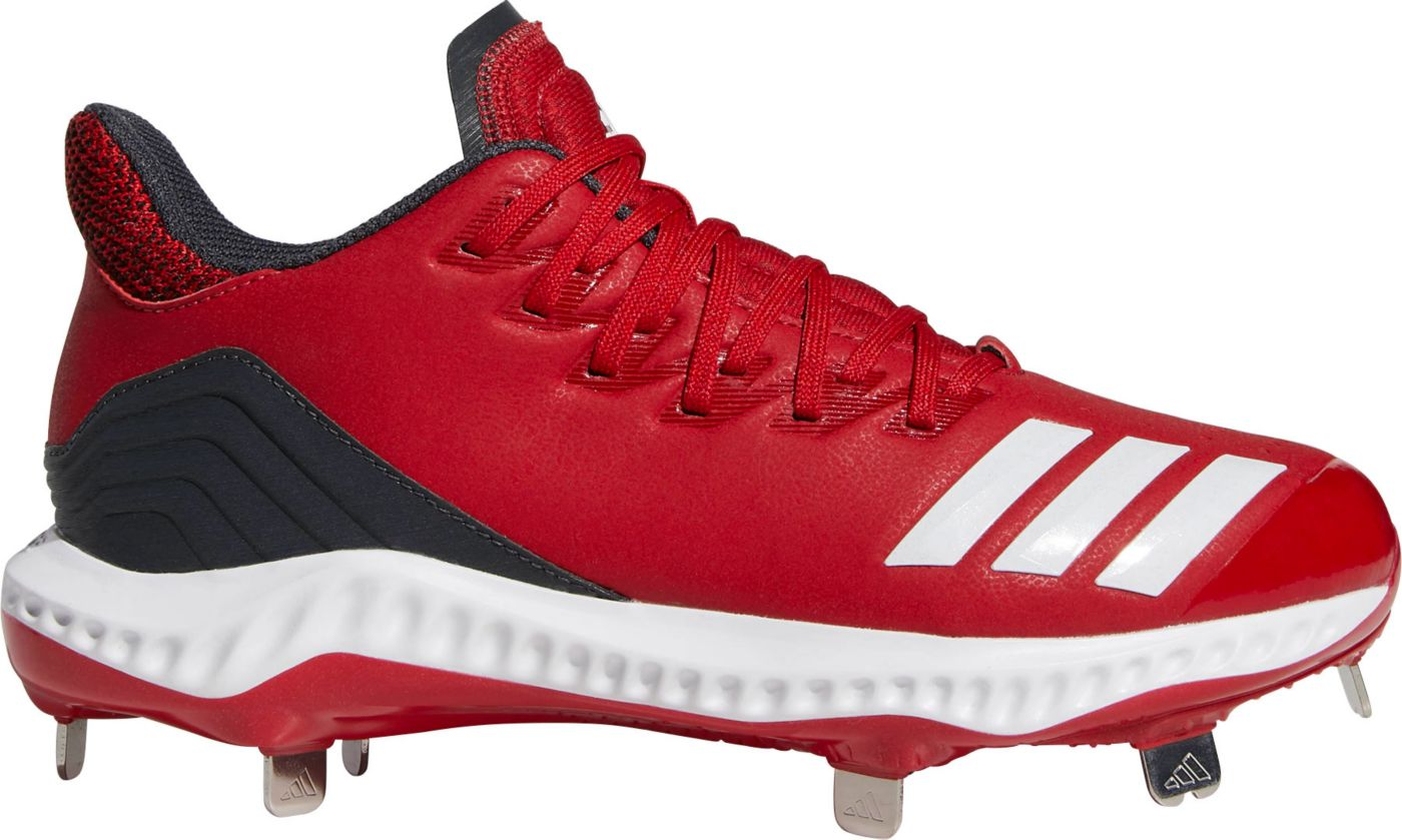 adidas Women's Icon Bounce Metal Fastpitch Softball Cleats