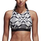 adidas Women's Wanderlust Yoga Halter Sports Bra