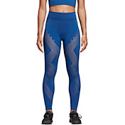 adidas Women's Warp Knit High-Rise 7/8th Length Tights