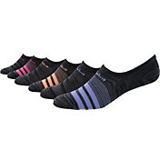 adidas Women's Superlite No Show Socks 6 Pack