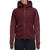 adidas Women's Z.N.E. Winterized Full-Zip Hoodie