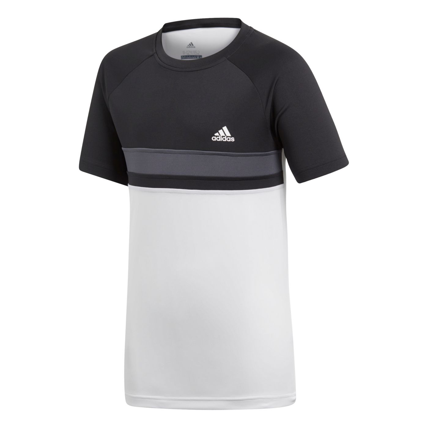 adidas Boys' Club Colorblock Tee