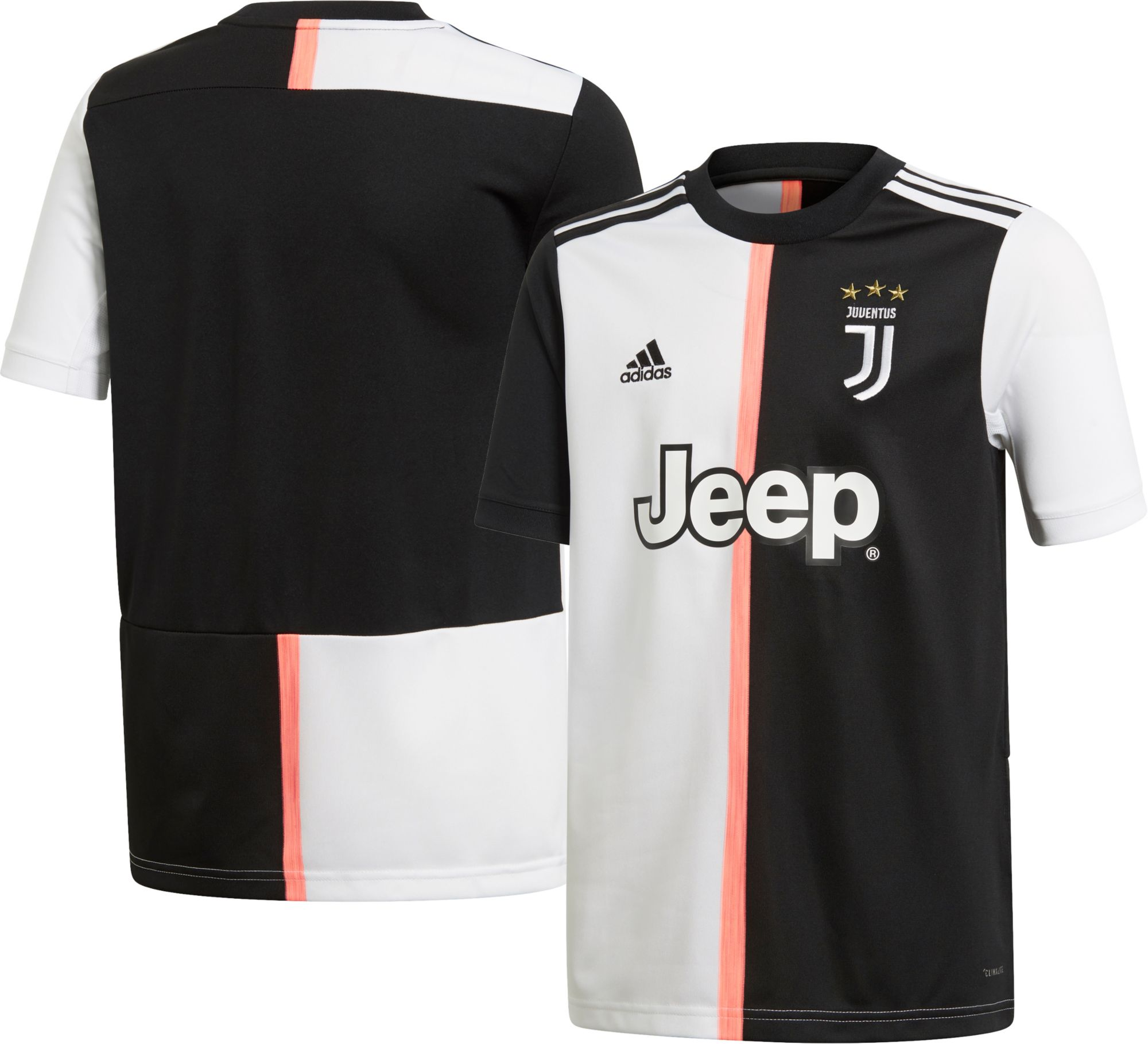 f219b3dcb adidas Youth Juventus  19 Stadium Home Replica Jersey