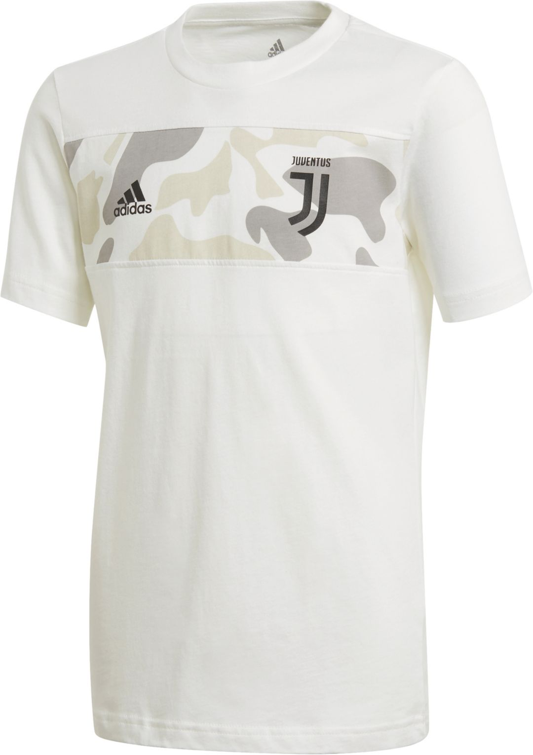 best service 4a1a8 ffb52 adidas Youth Juventus DNA Graphic White T-Shirt