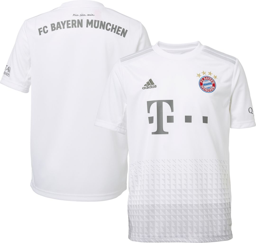 premium selection 3267a b054a adidas Youth Bayern Munich '19 Stadium Away Replica Jersey