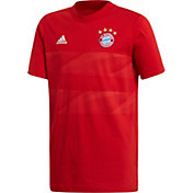 adidas Youth Bayern Munich DNA Graphic Red T-Shirt