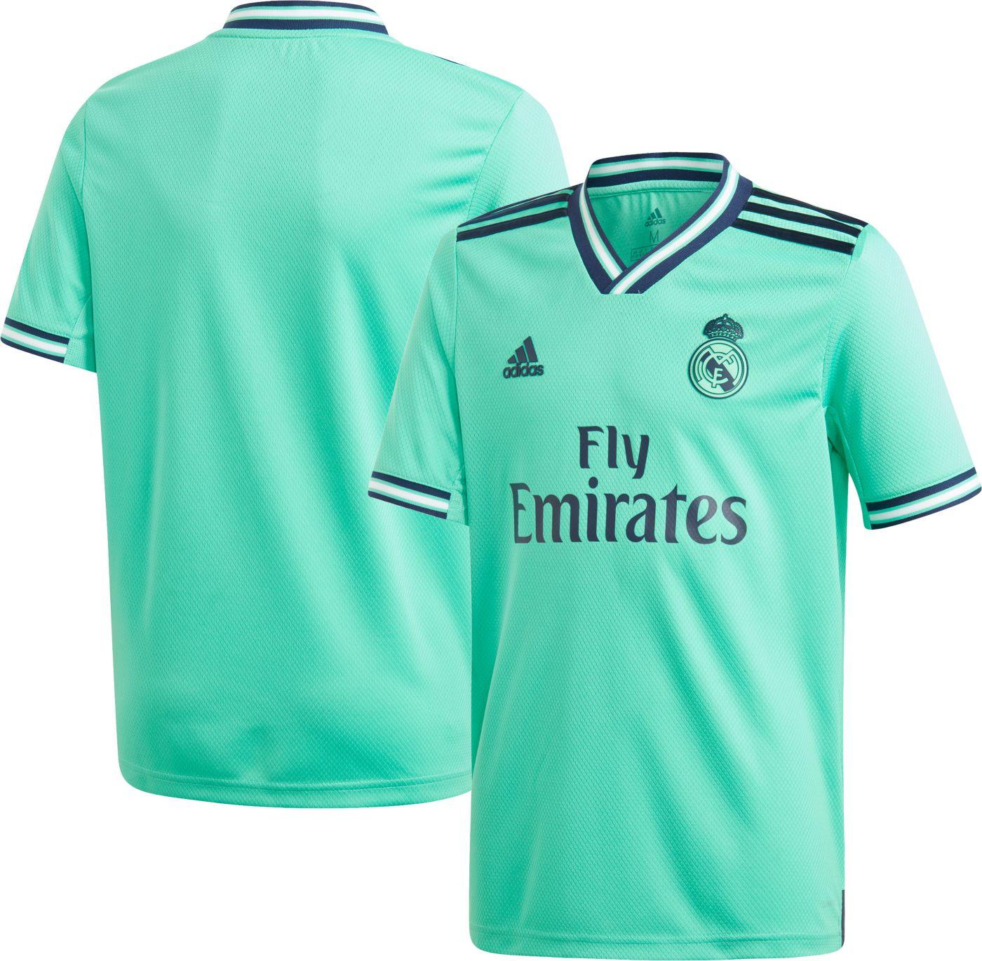 adidas Youth Real Madrid '19 Stadium Third Replica Jersey