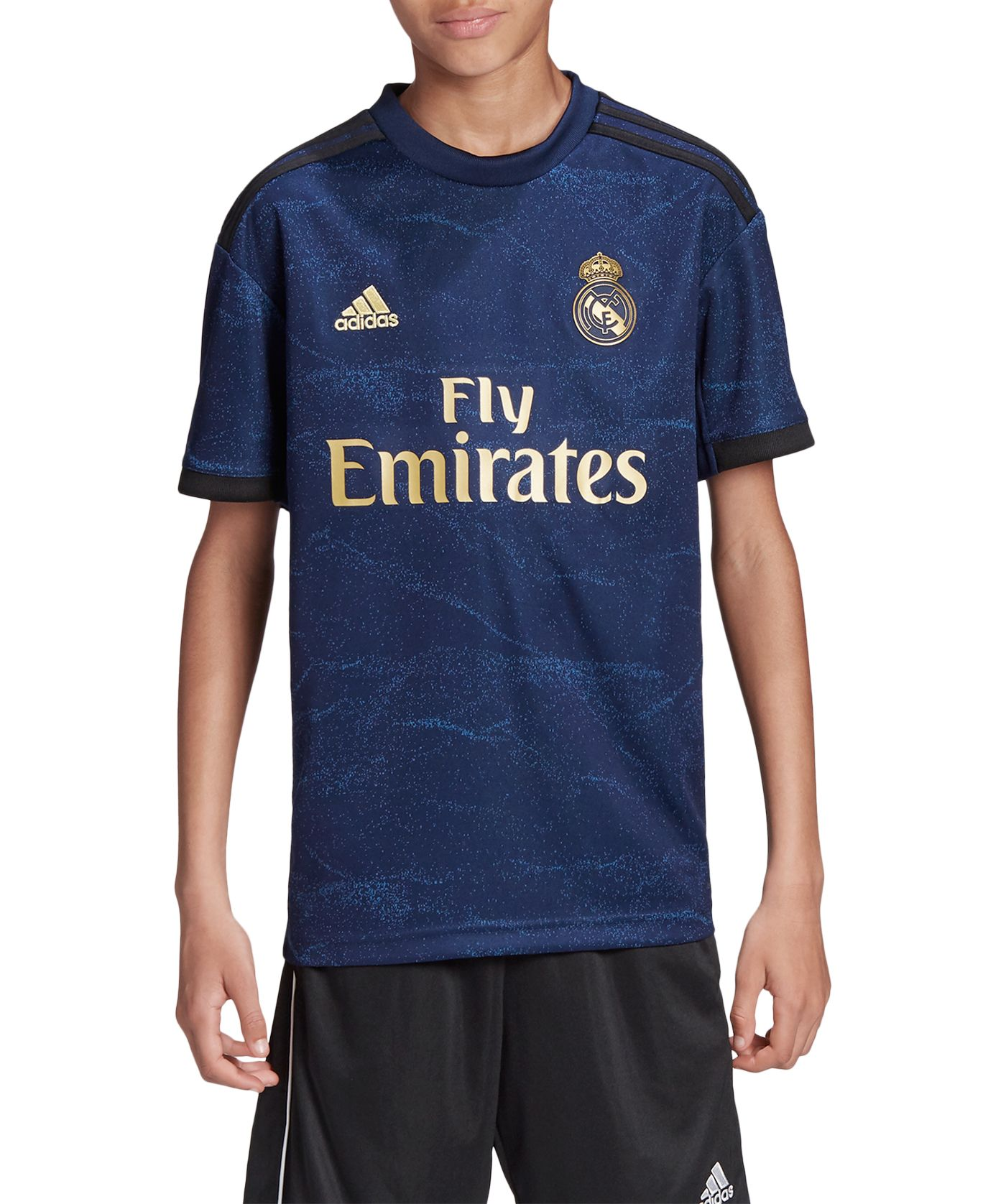 adidas Youth Real Madrid '19 Stadium Away Replica Jersey