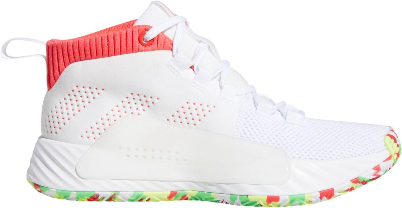 adidas Kids' Grade School Dame 5 Basketball Shoes