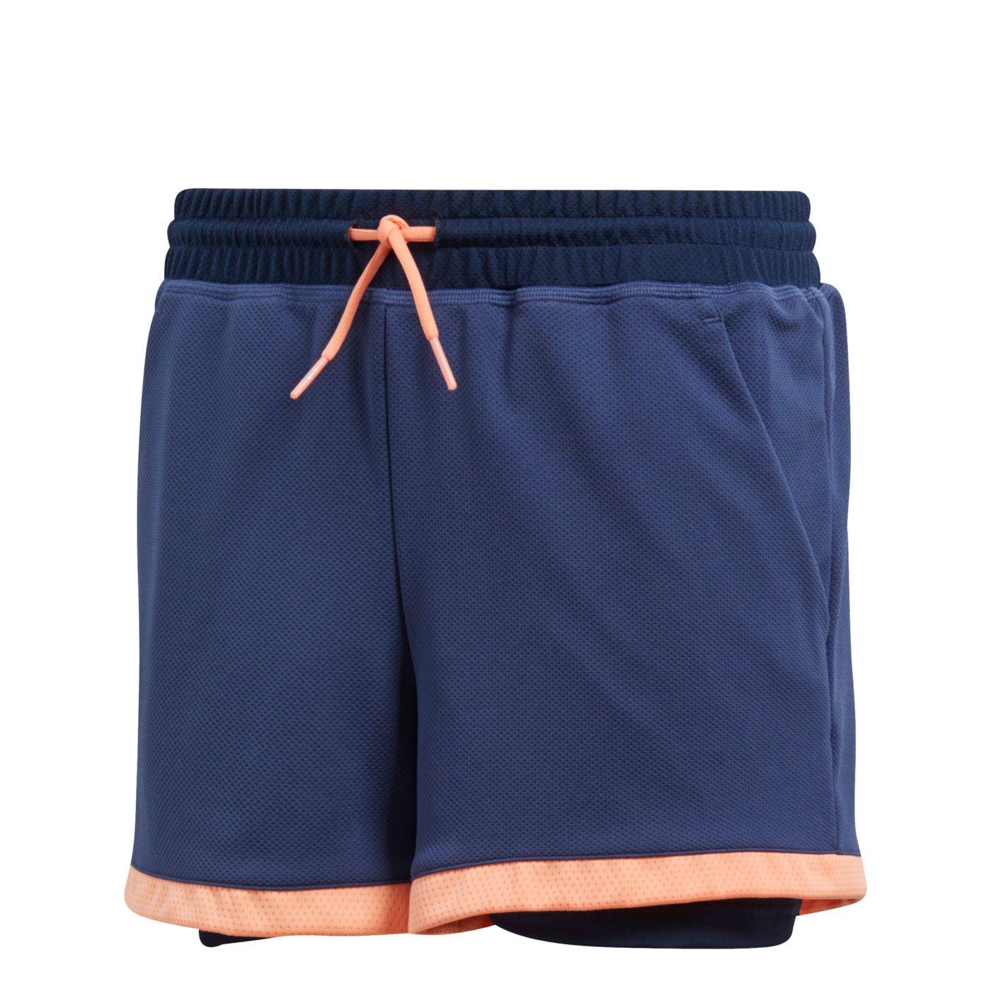 adidas Girls' Club Shorts