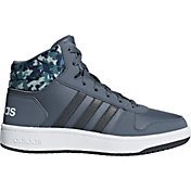 Product Image · adidas Kids Preschool Hoops 2.0 Mid Basketball Shoes