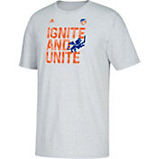 adidas Youth FC Cincinnati Ignite Heather Grey T-Shirt