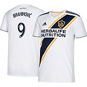 adidas Youth Los Angeles Galaxy Zlatan Ibrahimovic #9 Primary Replica Jersey