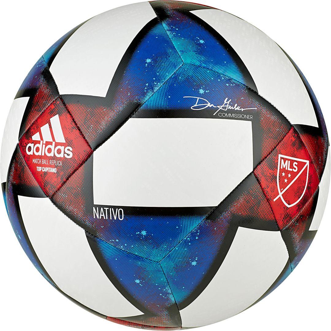sale retailer 7f70e 3605a adidas MLS Top Capitano Soccer Ball