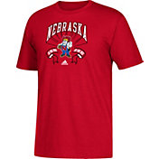 adidas Youth Nebraska Cornhuskers Scarlet Performance T-Shirt