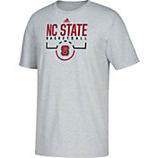 adidas Youth NC State Wolfpack Grey Performance Basketball T-Shirt