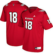 adidas Youth NC State Wolfpack #18 Red Replica Football Jersey