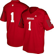adidas Youth Indiana Hoosiers Crimson #1 Replica Football Jersey