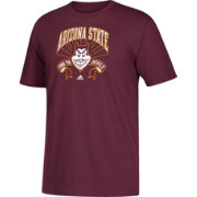 adidas Youth Arizona State Sun Devils Maroon Performance T-Shirt