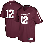 adidas Youth Texas A&M Aggies Maroon #12 Replica Football Jersey