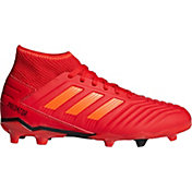 9f21bf49d74 Product Image · adidas Kids' Predator 19.3 FG Soccer Cleats. Red/Black